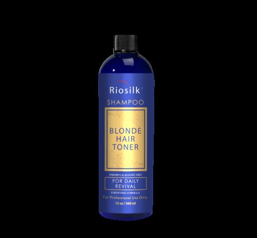 RIOSILK BLONDE TONER SHAMPOO 3D